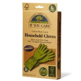 If You Care reusable FSC certifed rubber gloves - large