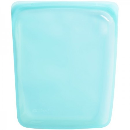 Stasher Silicone Storage Bag Large 1.92L - Aqua