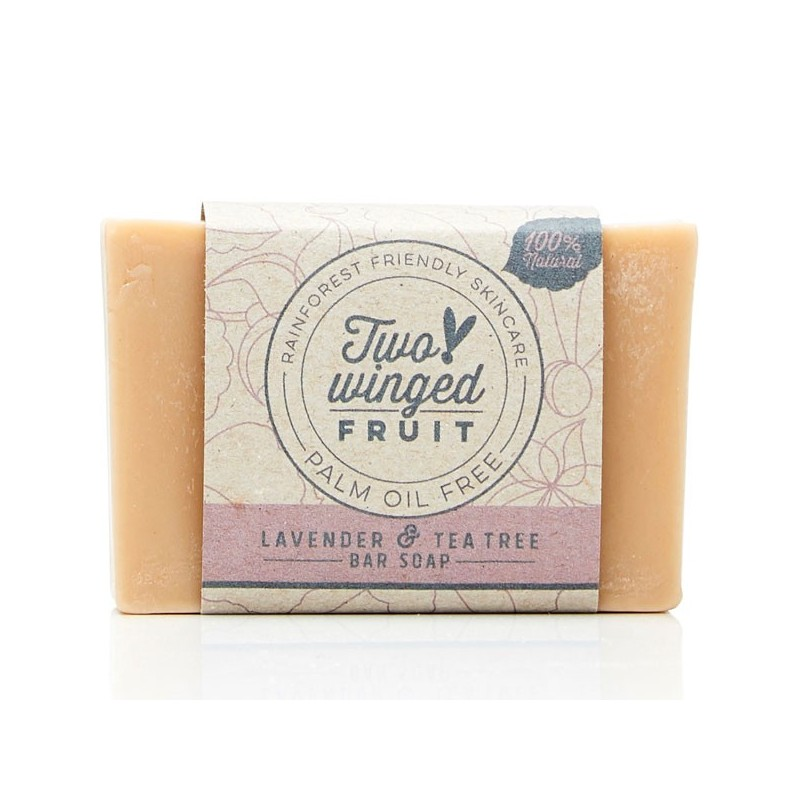 Two-Winged Fruit Bar Soap - Lavender & Tea Tree