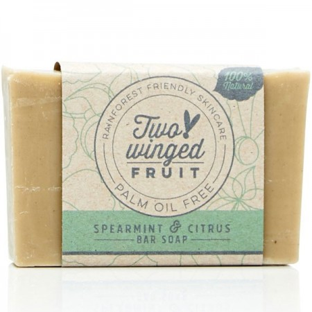 Two-Winged Fruit Bar Soap - Spearmint & Citrus