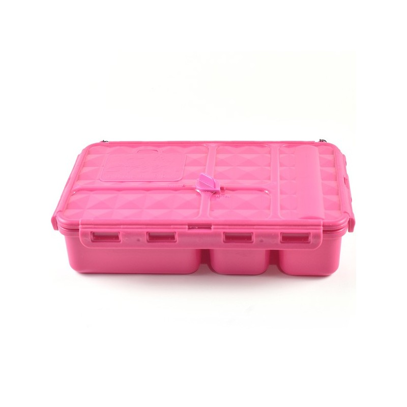 Go Green Snack Box 5 Compartment - Pink