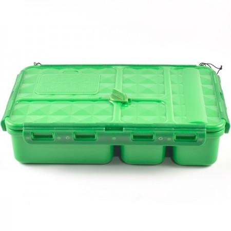 Go Green Snack Box 5 Compartment - Green
