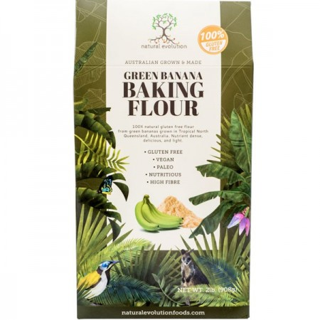 Natural Evolution Gluten Free Green Banana Baking Flour 908g