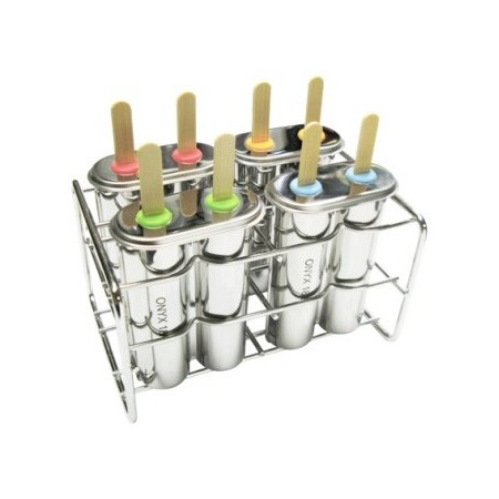 Onyx Stainless Steel Ice Block Mould - Double Pop