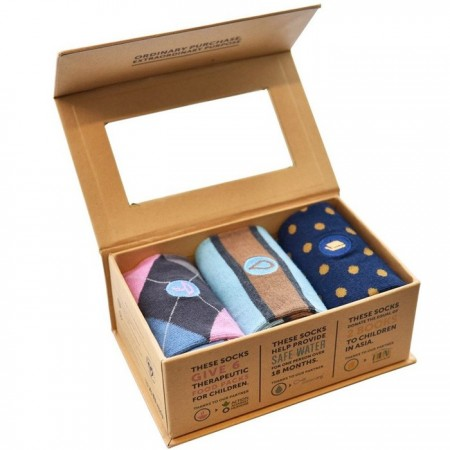 Conscious Step Sock Collection 3pk - Fight Poverty