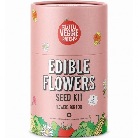 The Little Veggie Patch Co. Seed Kit - Edible Flowers