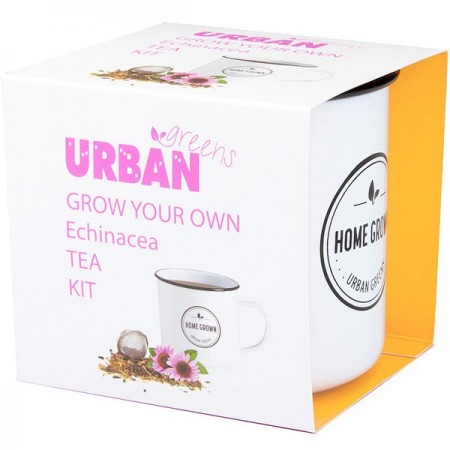 'UrbanGreens Grow Your Own Tea Kit - Echinacea