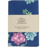 Organic Cotton Handkerchief - Desert Flowers