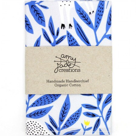 Organic Cotton Handkerchief - King of Beasts