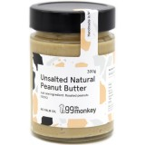 99th Monkey Unsalted Natural Peanut Butter 300g