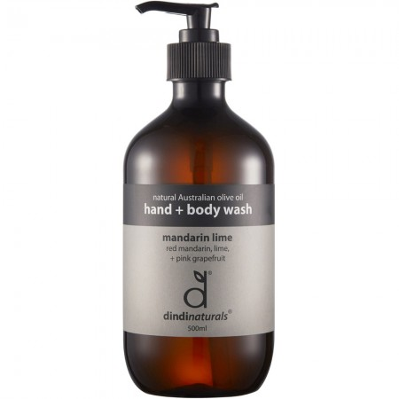 Dindi Palm Oil Free Hand & Body Wash - Mandarin Lime