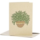 Deer Daisy Card - Love Fern