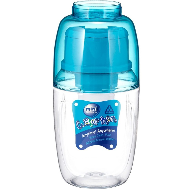 Mini Waterman Water Filter Bottle 600ml - Blue