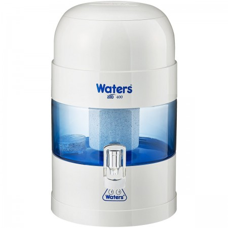 Waters Co BIO 400 Benchtop Alkaline Water Filter 5.25L - White