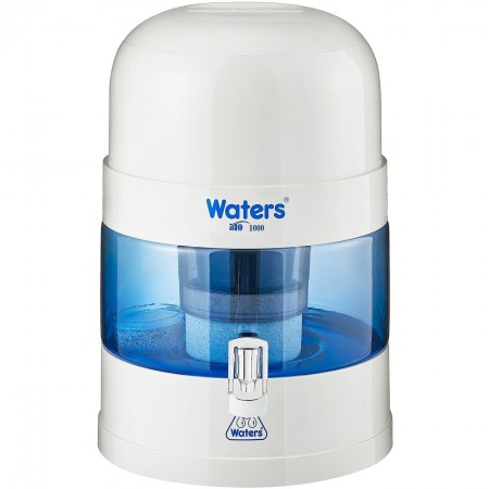 WatersCo BIO 1000 Benchtop Alkaline Water Filter 10L - White