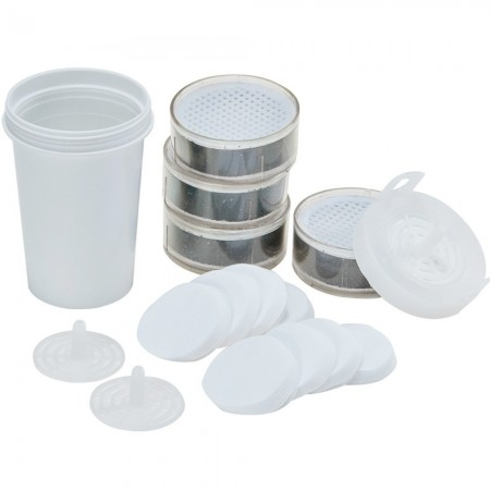 AceBio+ WatersCo 1L Water Filter Jug Replacement Filter Kit