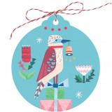Earth Greetings Christmas Tag 5pk - Kookaburra Joy
