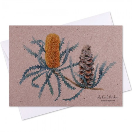 The Linen Press Card - Ric Rack Banksia