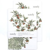 Notely Notebook Set A5 - Red Delicious Blank