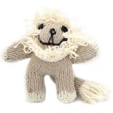 Knit for Life Cotton Toy - Lion Small
