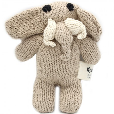Knit for Life Cotton Toy - Elephant Small