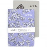 Notely Pocket Notebook Set A6 - Fern Fancy Lined