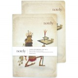 Notely Notebook Set A5 - Eco Warrior Blank