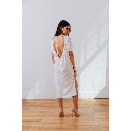The MNML Wanderer Dress White