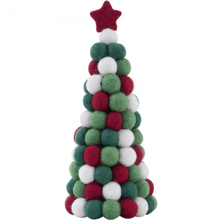 Christmas Decorations.Fairtrade Felt Christmas Decoration Standing Christmas Tree Biome Eco Stores