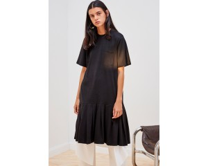 Kowtow Building Block Pleated Tee Dress