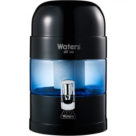 WatersCo BIO 500 Benchtop Alkaline Water Filter 5.25L - Black