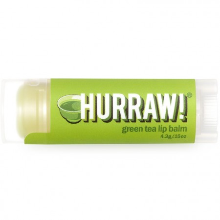 Hurraw lip balm - green tea