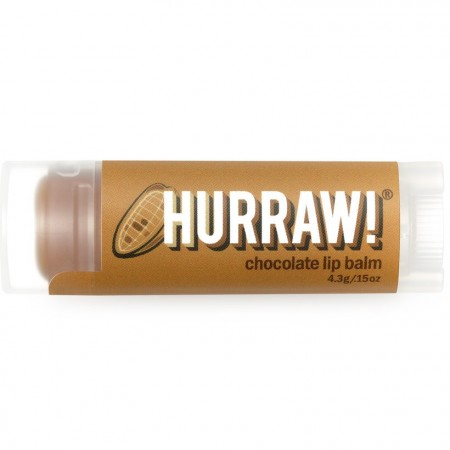 Hurraw! Vegan Lip Balm - Chocolate