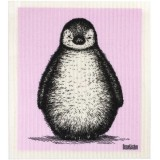 Swedish Dish Sponge Cloth - Sketch Penguin