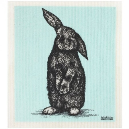 Swedish Dish Sponge Cloth - Sketch Rabbit