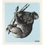 Swedish Dish Sponge Cloth - Sketch Koala