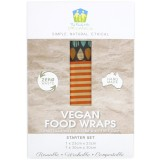 Family Hub Organics Vegan Food Wraps - Starter Set