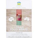 Family Hub Organics Vegan Food Wraps - Kitchen Set