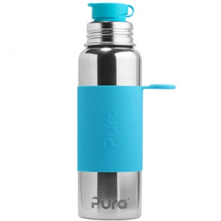 Pura Kiki Sports Bottle 850ml - Aqua Blue