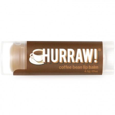 Hurraw! Vegan Lip Balm - Coffee Bean