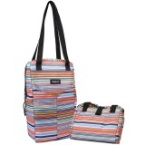 Packit Freezable Double Wine Bag - Blanket Stripe