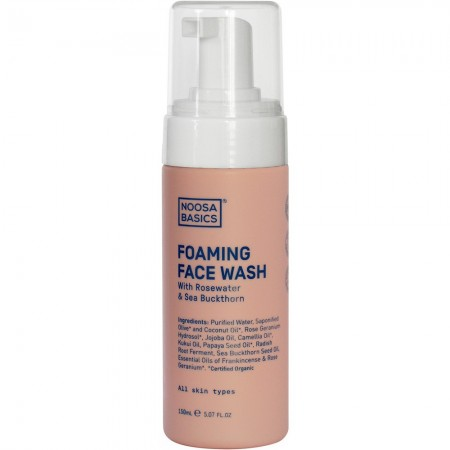Noosa Basics Foaming Face Wash for All Skin Types 150ml