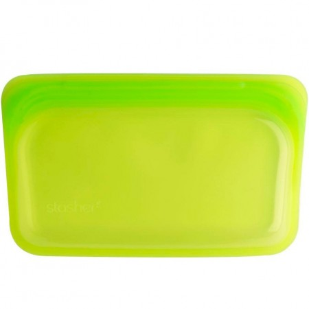 Stasher Silicone Snack Bag 293ml - Lime