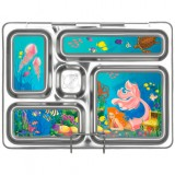 PlanetBox Rover Kit MERMAIDS (Box, Containers, Magnets, Carry Bag)