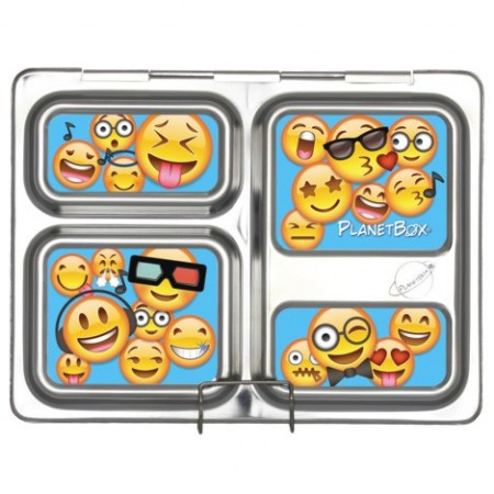 Planetbox Launch Kit EMOTICONS (Box, Dipper, Magnets)