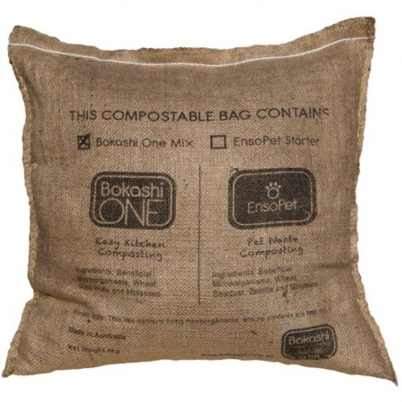 Bokashi Grains in Hessian Bag 4kg