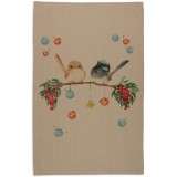 The Linen Press Christmas Tea Towel - Christmas Joy
