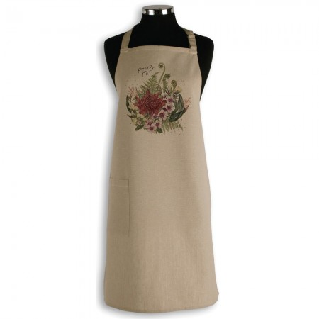The Linen Press Christmas Apron - Peace & Joy