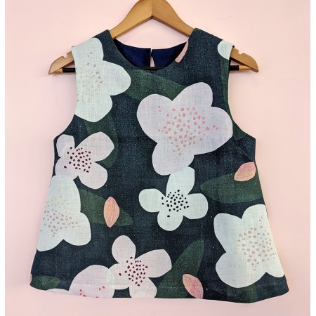 Seagrass Design Sleeveless Top Trees for Bees