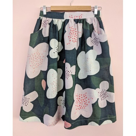 Seagrass Design Waisted Skirt Trees for Bees